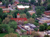 Aerial View of Whitman College Campus in Walla Walla, Washington, USA Photographic Print by William Sutton