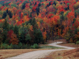 Central Vermont in the Fall, USA Photographic Print by Charles Sleicher