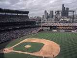 Safeco Field, Home of the Seattle Mariners Baseball Team, Seattle, Washington, USA Fotografisk trykk av Connie Ricca