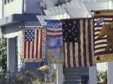 Flag Shop on Whidbey Island, Washington, USA Photographic Print by William Sutton