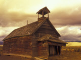 School House on the Ponderosa Ranch, Seneca, Oregon, USA Photographic Print by Darrell Gulin