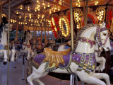 Carousel, Seattle, Washington, USA Photographic Print by John & Lisa Merrill