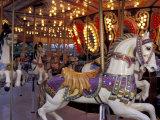 Carousel, Seattle, Washington, USA Photographic Print by John & Lisa Merrill