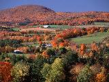 Charles Sleicher - Farmland near Pomfret, Vermont, USA Fotografická reprodukce