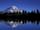 Mt. Rainier from Eunice Lake, Mt. Rainier National Park, Washington, USA Photographic Print by Jamie & Judy Wild