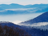 Southern Appalachian Mountains, Great Smoky Mountains National Park, North Carolina, USA Photographic Print by Adam Jones