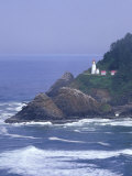 Heceta Head Lighthouse on Heceta Head, Oregon, USA Photographic Print by Jamie & Judy Wild