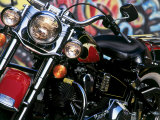 Harley Davidson Motorcycle Photographic Print