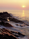 Sunrise from 'Marginal Way', Maine, USA Photographic Print by Jerry & Marcy Monkman