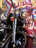 Harley Davidson Heritage Softail Made 1991 from a 1936 Style Photographie