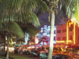 Colorful Street Life, South Beach, Miami, Florida, USA Photographic Print by Stuart Westmoreland