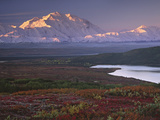 Parc national de Denali &#224; c&#244;t&#233; de Wonder Lake, Alaska, Etats-Unis Photographie par Charles Sleicher