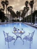 Delano Hotel Pool, South Beach, Miami, Florida, USA Fotodruck von Robin Hill