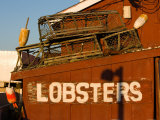 Holbrook's Lobster Wharf and Grille, Cundy Harbor, Maine, USA Photographic Print by Jerry & Marcy Monkman