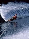 Water Skiing Photographic Print