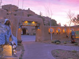 Loretto Inn, Santa Fe, New Mexico, USA Photographic Print by Rob Tilley