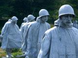 Korean War Memorial, Washington DC, USA Stampa fotografica di Lisa S. Engelbrecht
