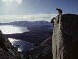 Lake Tahoe, California, USA Fotografisk trykk