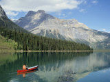 Emerald Lake, Yoho National Park, British Columbia, Canada Photographic Print