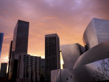 Downtown Skyline, Los Angeles, California, USA Photographic Print by Nik Wheeler