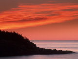 Coast at Sunrise, Acadia National Park, Maine, USA Photographic Print by Joanne Wells