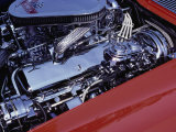Corvette Engine Photographic Print