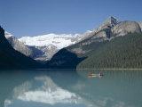 Lake Louise, Banff National Park, Banff, Rocky Mountains, Alberta, Canada Photographic Print