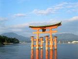 Torii of Itsukushima, Miyajima, Japan Photographic Print
