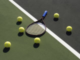 Tennis Still Life Impresso fotogrfica