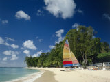 Holetown Beach, Bridgetown, Barbados Photographic Print