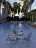 Delano Hotel, South Beach, Miami, Florida, USA Photographic Print by Robin Hill