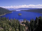Emerald Bay, Lake Tahoe, California, USA Fotografisk trykk av Adam Jones
