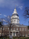 Maryland State House, Annapolis, USA Photographic Print