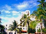 Art Deco Building, South Beach, Miami, Florida, USA Photographic Print by Terry Eggers