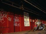 Harley Davidson Heritage Softail Reprodukcja zdjęcia