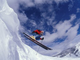 Skiing in Vail, Colorado, USA Photographie par Lee Kopfler
