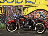 Harley Davidson Heritage Softail Photographic Print
