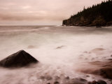 Pebble Beach along Ocean Drive, Acadia National Park, Maine, USA Photographic Print by Joanne Wells