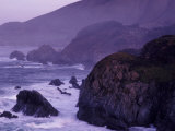 Coastline Between Carmel and Monterey, California, USA Photographic Print by Nik Wheeler