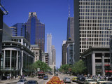 Michigan Avenue, Chicago, Illinois, USA Photographic Print