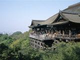 Kiyomizu Temple (Kiyomizu-Dera), Kyoto, Honshu, Japan Photographic Print