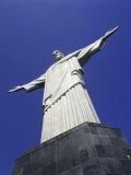 Christ the Redeemer Statue Rio de Janeiro, Brazil Impressão fotográfica