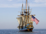 Tall Ship the Kalmar Nyckel, Chesapeake Bay, Maryland, USA Photographie par Scott T. Smith
