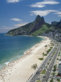 Ipanema Beach, Rio de Janeiro, Brazil Lámina fotográfica