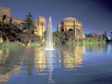 Palace of Fine Arts, Presidio, San Francisco, California, USA Photographie par William Sutton