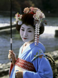 Maiko Girl, Kyoto, Japan Photographic Print