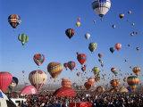 Festival Albuquerque, New Mexico, USA Photographic Print