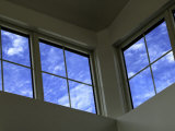 Low Angle View of Windows Photographic Print