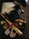Baseball Still Life Fotografie-Druck
