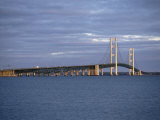 Mackinac Bridge, Michigan, USA Photographic Print